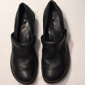 Born Black Leather Shoes Sz 8.5